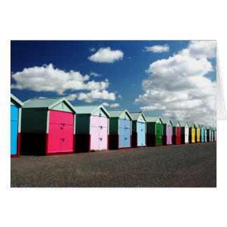 Beach Huts 2 Card