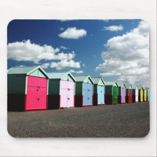Beach Huts 2 Mouse Mat