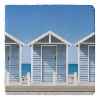 Beach Huts 2 Trivet