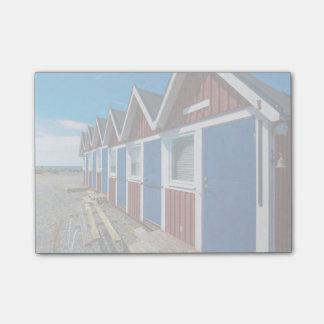 Beach Huts 3 Post-it® Notes