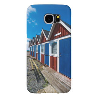 Beach Huts 3 Samsung Galaxy S6 Cases