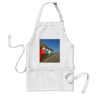Beach huts apron
