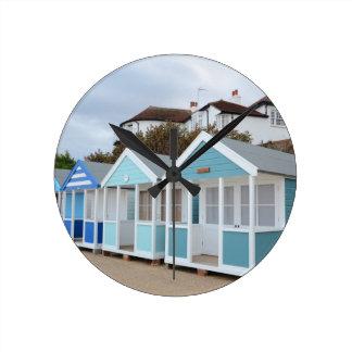 Beach Huts At Southwold Clocks