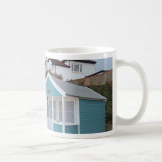 Beach Huts At Southwold Coffee Mug