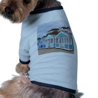 Beach Huts At Southwold Ringer Dog Shirt