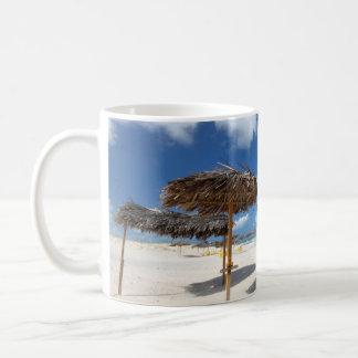 Beach Huts |Brazil Basic White Mug