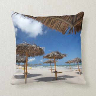 Beach Huts |Brazil Cushion