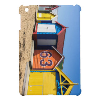 Beach Huts By The Sea iPad Mini Case