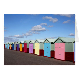 Beach Huts Card