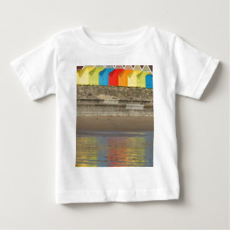 Beach Huts.jpg Baby T-Shirt