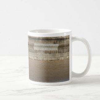 Beach Huts.jpg Basic White Mug