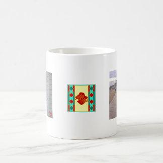 Beach Huts, Lyme Regis Coffee Mug