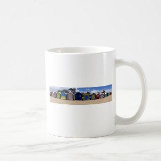 Beach Huts Melbourne 2 Mug