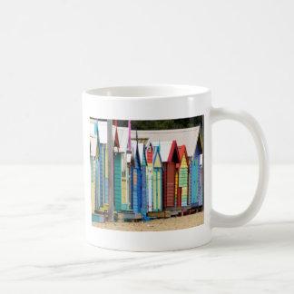 Beach Huts Melbourne Coffee Mug