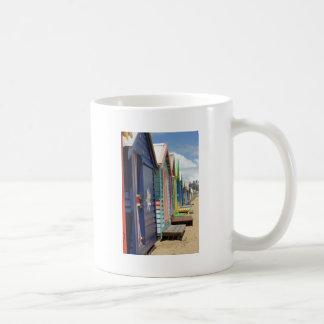 Beach Huts Melbourne Side Coffee Mug
