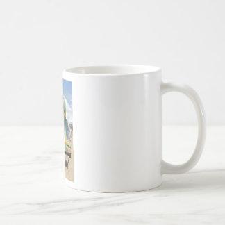 Beach Huts Melbourne Side Coffee Mugs