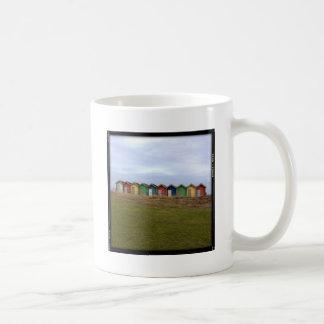 Beach Huts Coffee Mugs