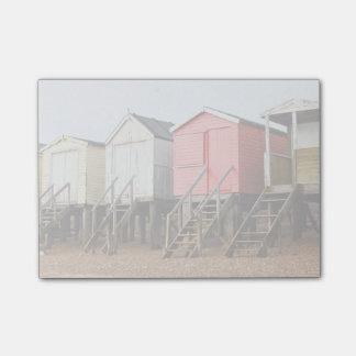 Beach Huts Post-it Notes