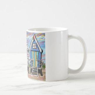 Beach Huts RWB Coffee Mug