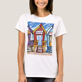 Beach Huts T-Shirt