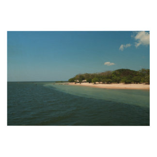 Beach In Alter Wood Canvases