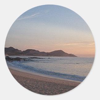 beach in cabo sticker