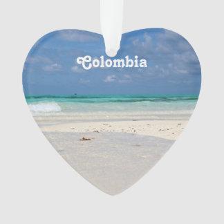Beach in Columbia Ornament