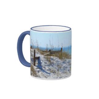 Beach in Florida Coffee Mugs