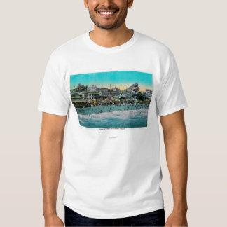 Beach in front of the Bath House, Long Beach Tee Shirt