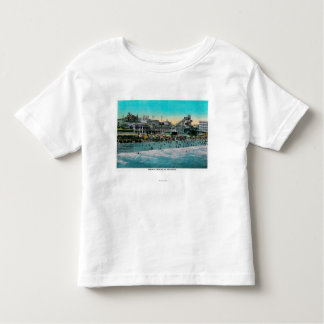 Beach in front of the Bath House, Long Beach Toddler T-Shirt