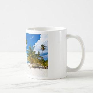 Beach in Saona Dominican Republic Coffee Mug