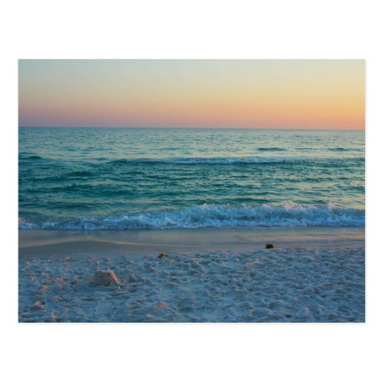 Beach in Seaside, Florida Postcard