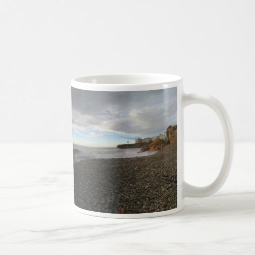 Beach in Spain Mug by IreneDesign2011