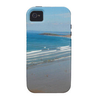 Beach in Wales iPhone 4/4S Cover