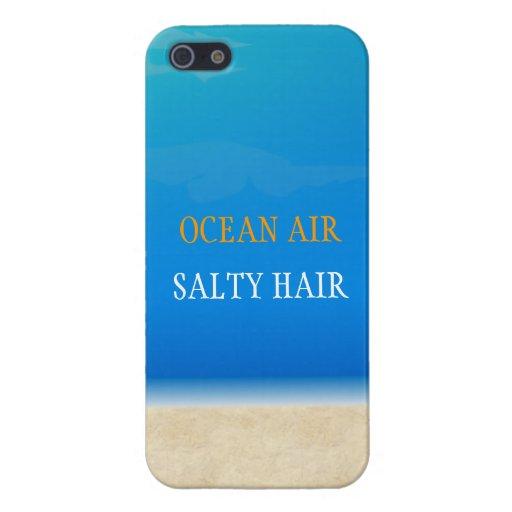Beach Iphone Cover - Ocean Air Salty Hair Cases For iPhone 5