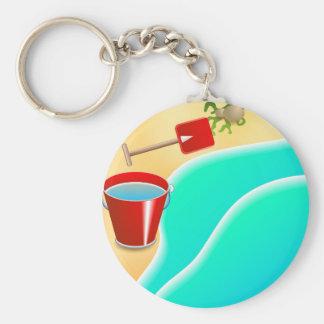 Beach Keychain