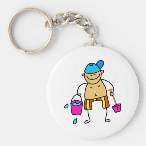 Beach Kid Key Chain