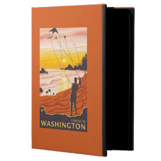 Beach & Kites - Ilwaco, Washington Case For iPad Air