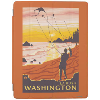 Beach & Kites - La Push, Washington iPad Cover