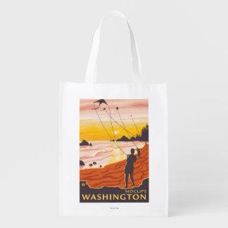 Beach & Kites - Moclips, Washington