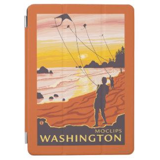 Beach & Kites - Moclips, Washington iPad Air Cover
