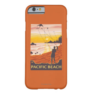 Beach & Kites - Pacific Beach, Washington Barely There iPhone 6 Case