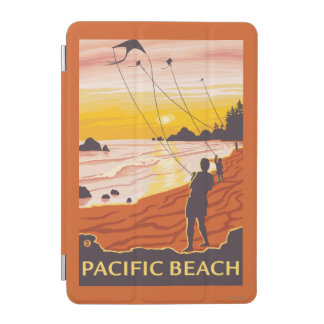 Beach & Kites - Pacific Beach, Washington iPad Mini Cover