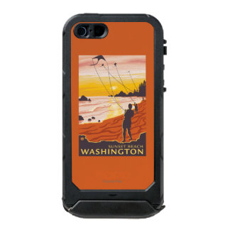 Beach & Kites - Sunset Beach, Washington Incipio ATLAS ID™ iPhone 5 Case