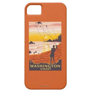 Beach & Kites - Washington Coast iPhone 5 Covers
