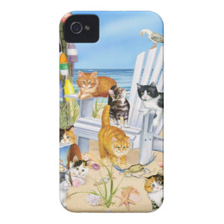 Beach Kittens iPhone 4/4S Tough Universal Case