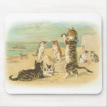 Beach Kittens Mouse Pad