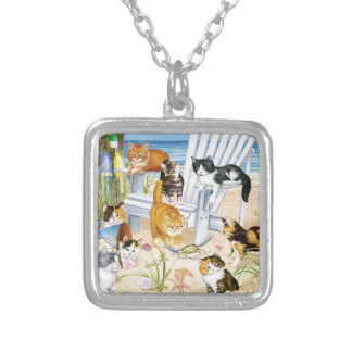 Beach Kittens Necklace