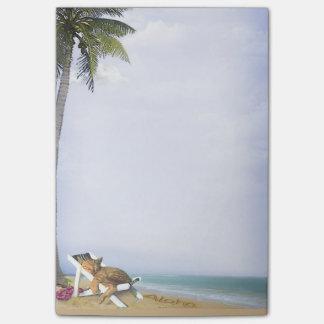 Beach Kitty Post-it® Notes