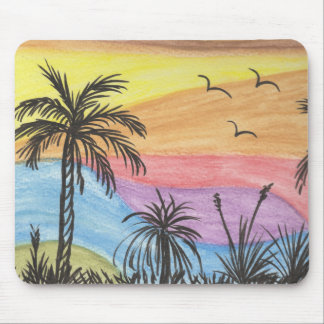 Beach Landscape Mouse Mat